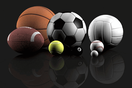 balls from different sports