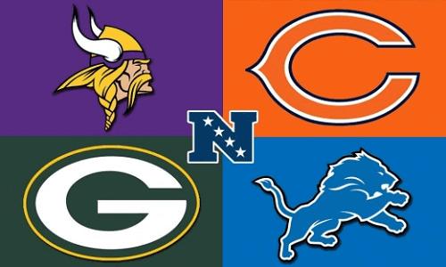 NFC North teams logo