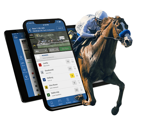 horse racing with mobile online racebooks