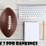 fantasy football rankings week 7 nfl