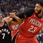 new orleans pelicans at toronto raptors NBA USA