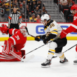 boston bruins at detroit red wings NHL USA
