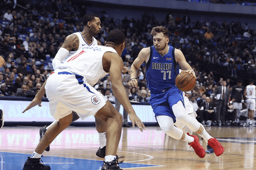 la clippers at dallas mavericks NBA USA