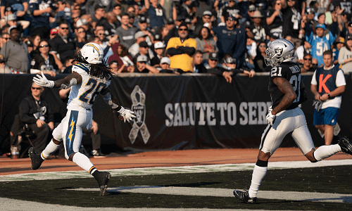 los angeles chargers at oakland raiders USA NFL