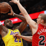 los angeles lakers at chicago bulls