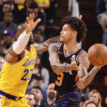 los angeles lakers at phoenix suns NBA USA