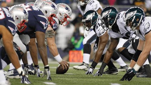 new england patriots at philadelphia eagles NFL USA