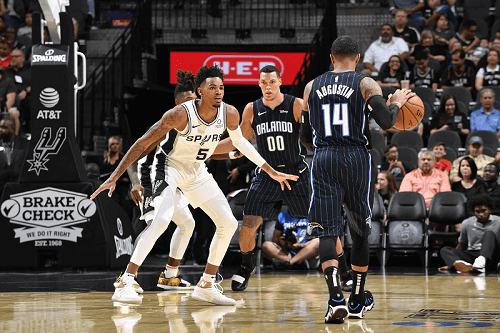 san antonio spurs at orlando magic NBA USA