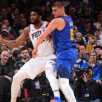 denver nuggets at philadelphia 76ers NBA USA