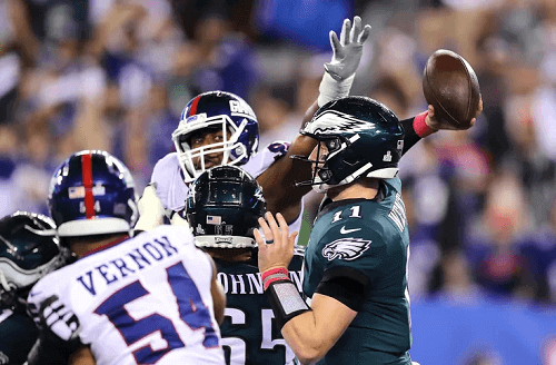 new york giants at philadelphia eagles NFL USA