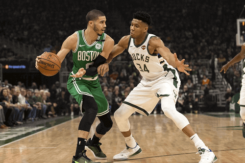 boston celtics at milwaukee bucks NBA odds