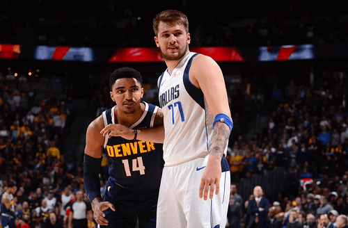 denver nuggets at dallas mavericks 1-8-20 nba