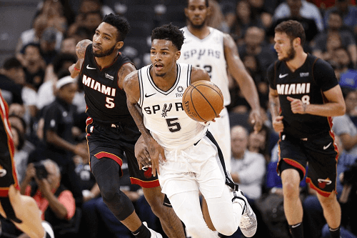 san antonio spurs at miami heat NBA odds